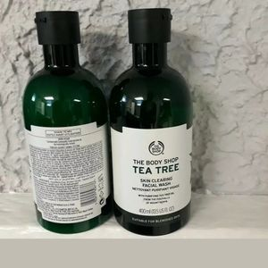 Tea Tree skin clearing facial Toner and wash